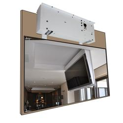 Wireless remote control motorized tv lift Electric hidden TV ceiling mount flip-down from ceiling