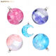 Wholesale Nature Blue Sky Clouds Transparent Ball Moon Resin Pendant DIY Necklace Earring Charms for Women Jewelry Making