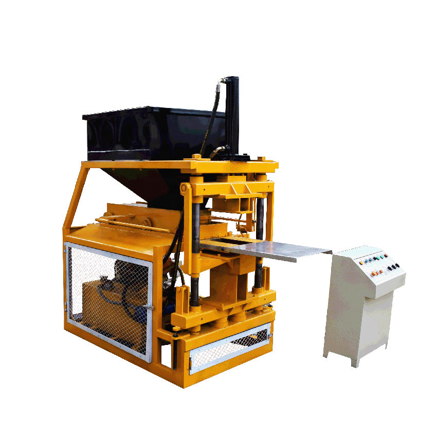 Clay multifunctional interlocking brick machine