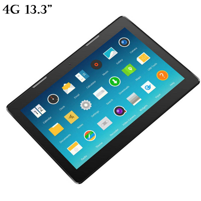 2020 MTK6737 4G LTE Quad Core 13,3 zoll 10000mAh tragbare industrie android7.0 tablet pc 2GB DDR + 32GB/4 + 64GB