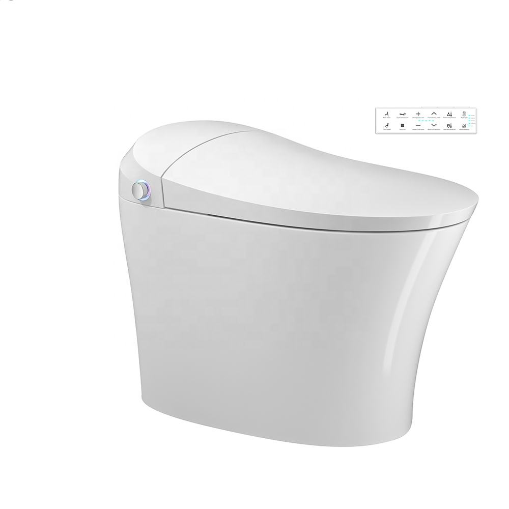 Front wash electric warm heat automatic bidet toilet