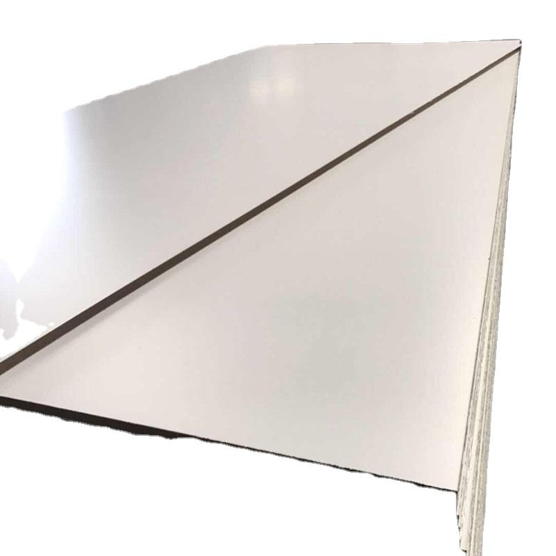 Plain Surface or Single side or Double Side Melamine Faced 4.75mm Thick MDF Board