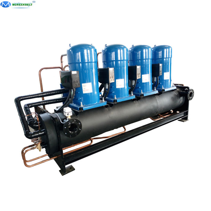 Open Type R410A Refrigerant 30 tons Industrial Water Cooled Scroll Chiller