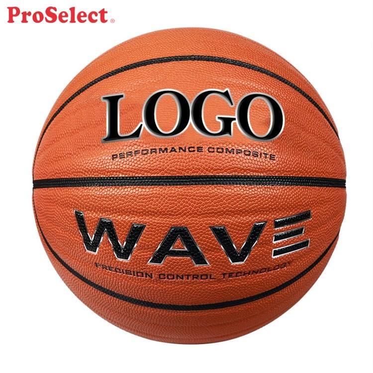 Triple Fil Adulte Microfibre Personnalisé Basket-Ball D'intérieur