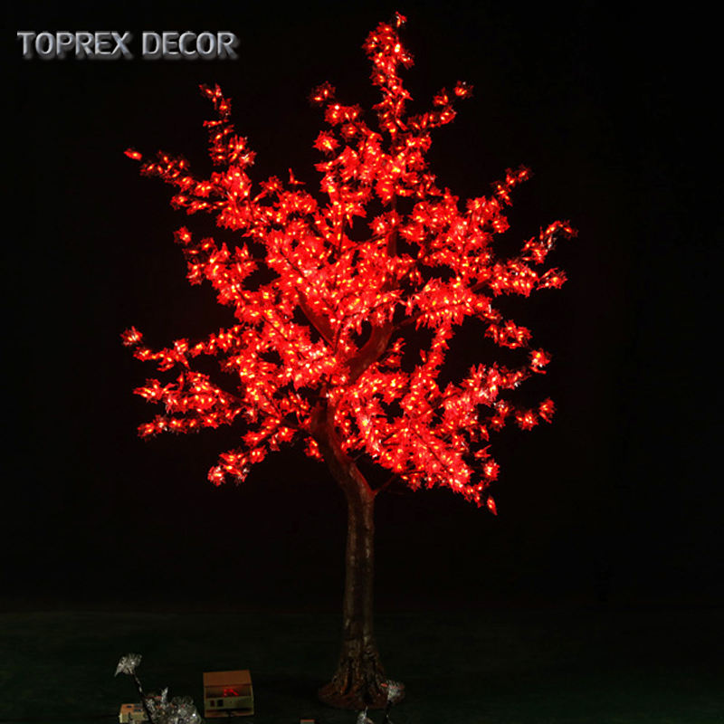 High end indoor decoration 110V 220V electric led artificial japanese maple leaf tree with led lights