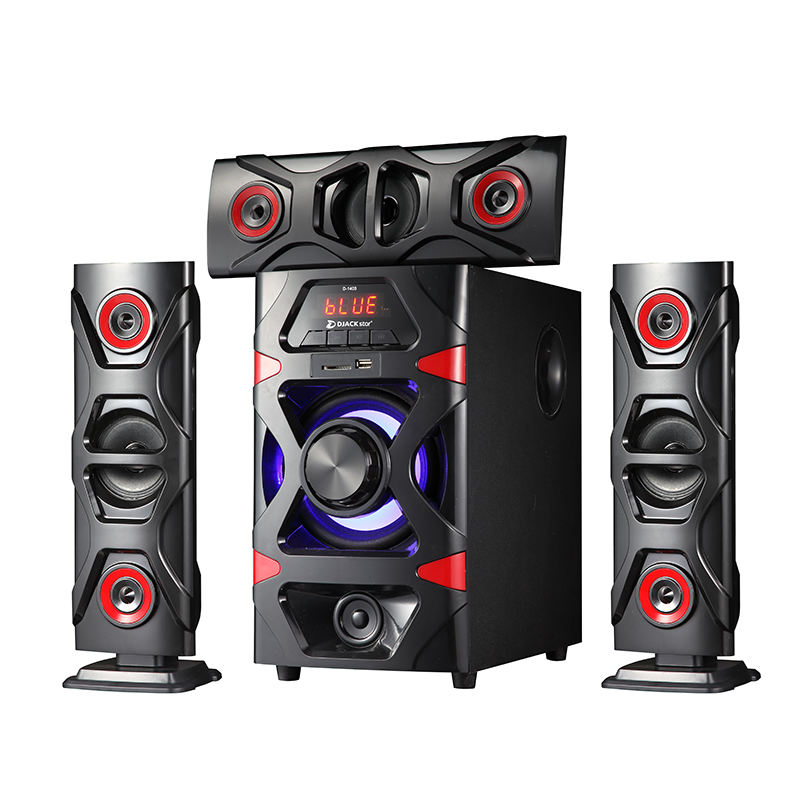 DJACK Star D1403 home theatre system speaker professional karaoke woofer amplifier subwoofer 3.1 speakers