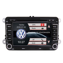 7 inch Touch Screen Car Radio BT Gps navigation CD DVD Player Stereo+CANBUS forVW(Golf,pasat,Skoda,Tiguan,Bora,Leon)AutoRadio