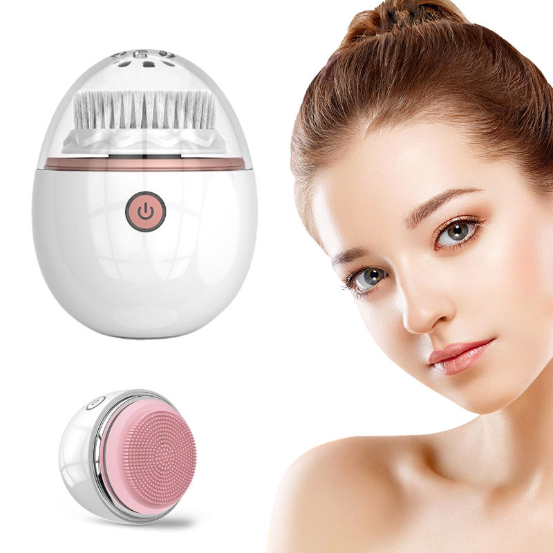 Belleza Mini Vibrating Silicone Facial Cleanser Face Spa Brush Best Selling New beauty equipment 2020 Sonic Facial Cleanser