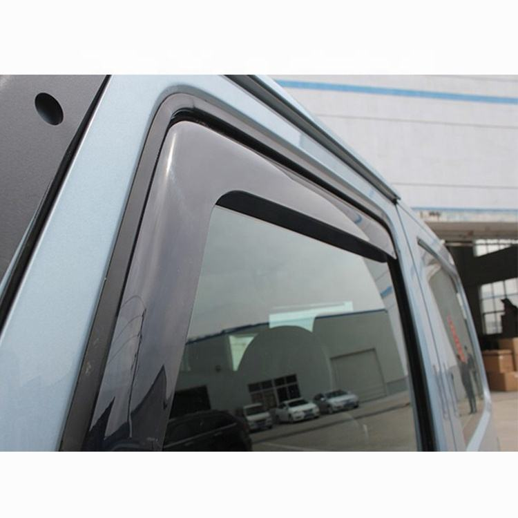 In-Channel Rain Deflectors Window Visor for Jeep Wrangler JK & JL