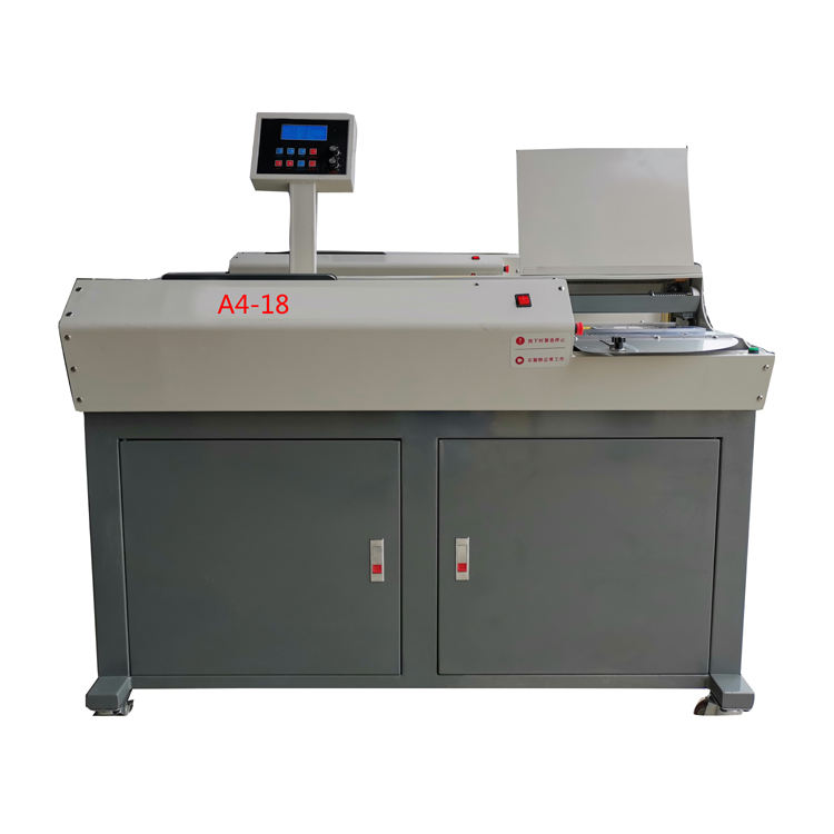 Executive automatic binding machine for bidding documents wireless hot melt book binding