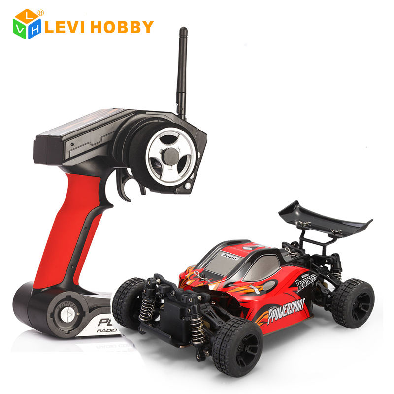 1:24 WLTOYS RTR 4WD RC Auto mit Lipo Batterie 2,4 Ghz Mini Buggy