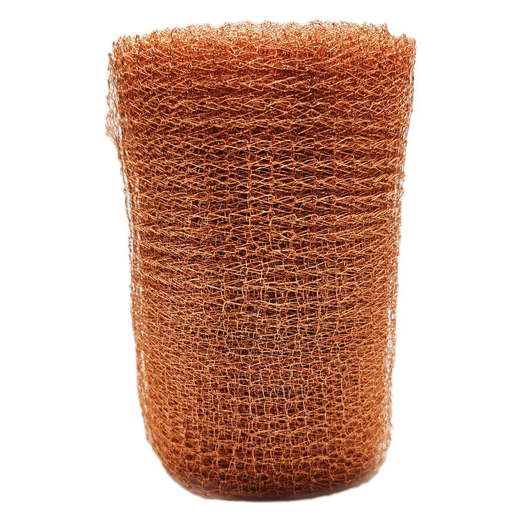 Copper Knitted Wire Mesh Gas-liquid Filter Mesh