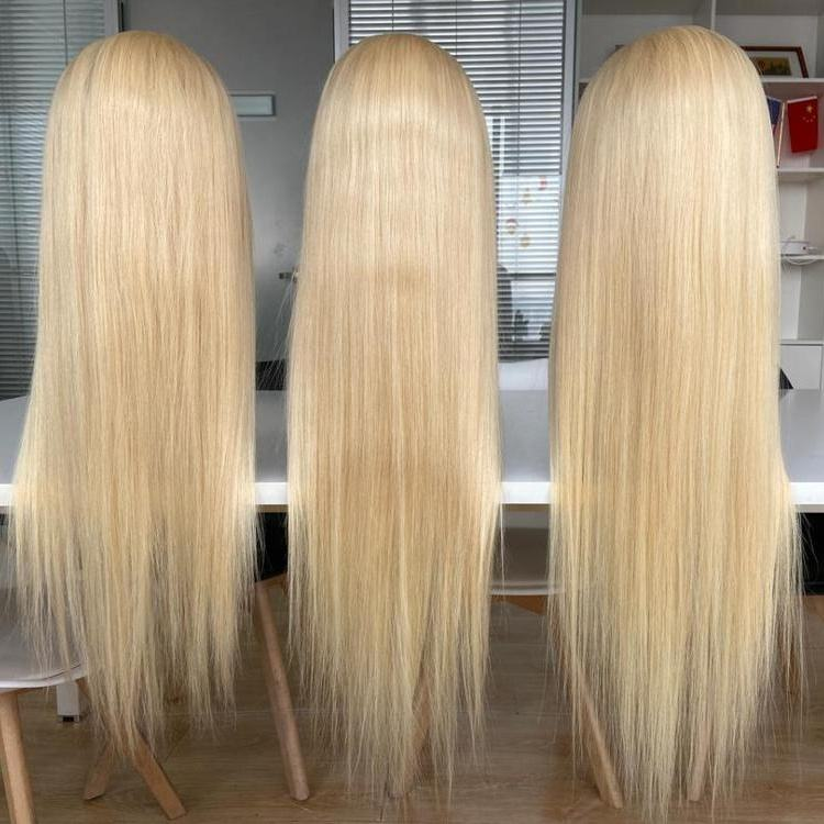 30 inch 613 blonde full lace wig stock and shipping out immediately