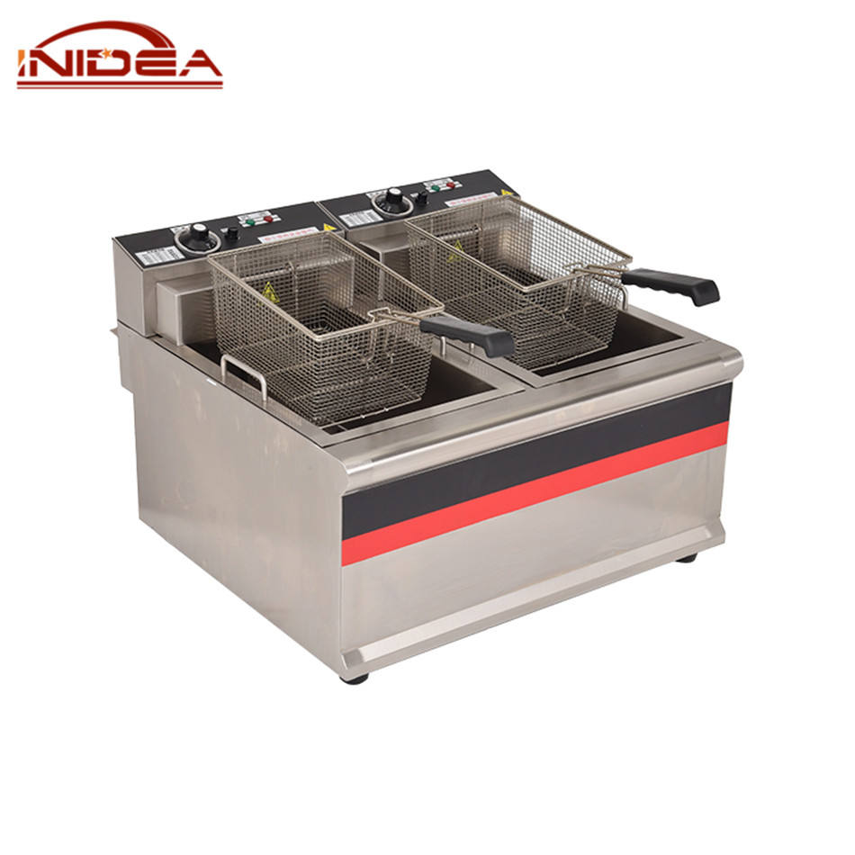 Professional Kitchen Equipment Chips Fryer Snacks Chips Equipment Commercial Deep