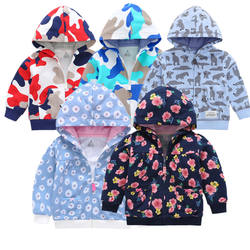 Kids Spring Zipper Hoodies Children Outfits Boys Girls Newborn Hooded Camouflage Jacket Baby Boy Girl Clothes 2020 New