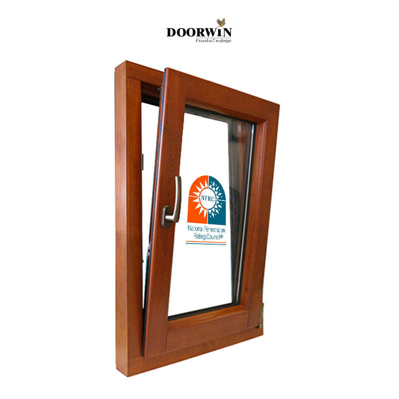 Doorwin Seattle di Alluminio finestra a battente in legno tilt girare windows