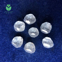 White HPHT CVD Synthetic Lab Grown Rough Uncut Diamond For Sale