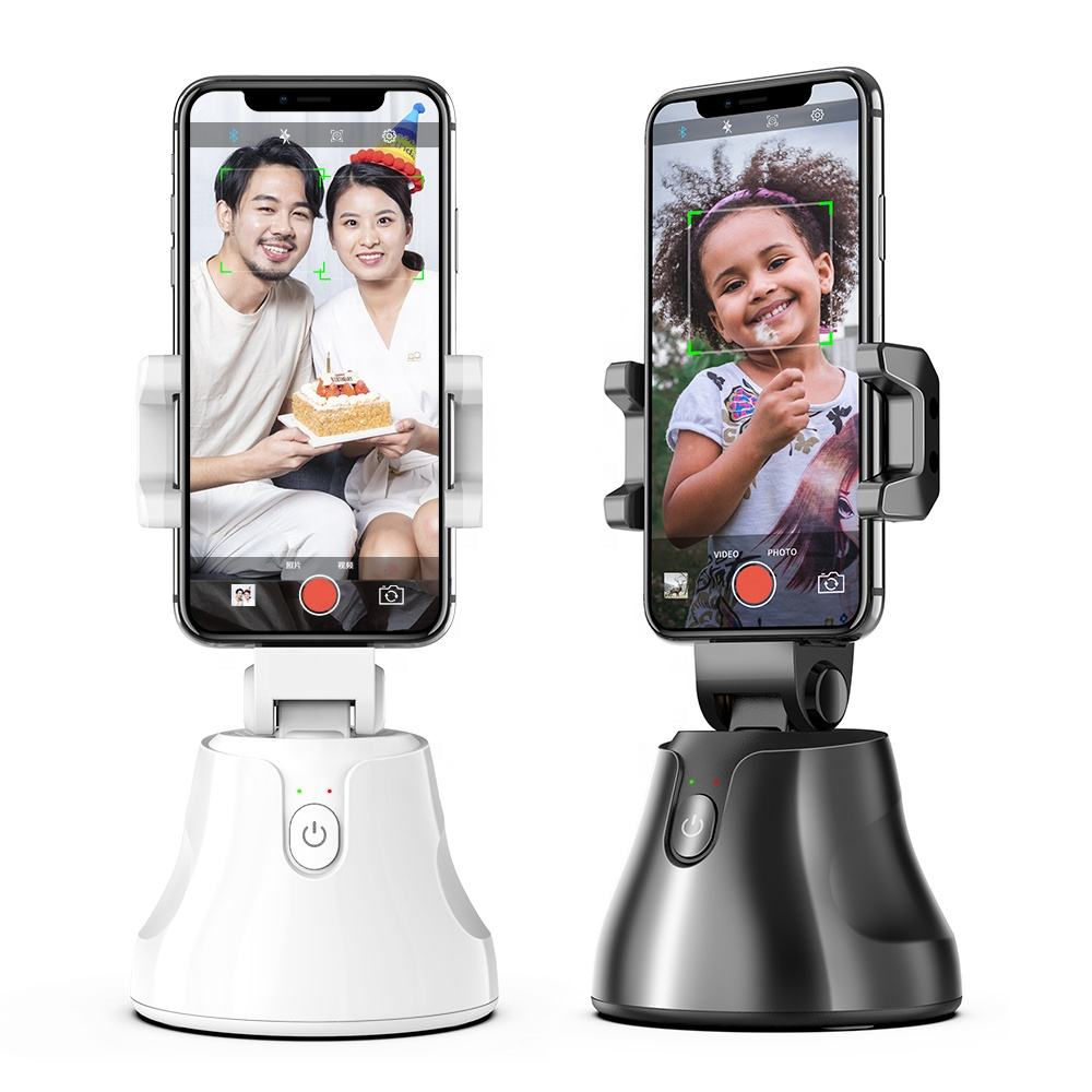 Hot Sale Apai Genie Rotation Face Object Camera Phone Holder Mount AI Smart Selfie Stick 360 Auto Tracking Shooting Holder