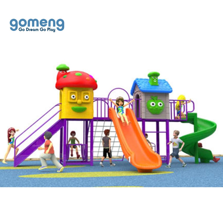 New Product Portable School Garden Child Toy Big Slide Equipment Outdoor Playground for Kids