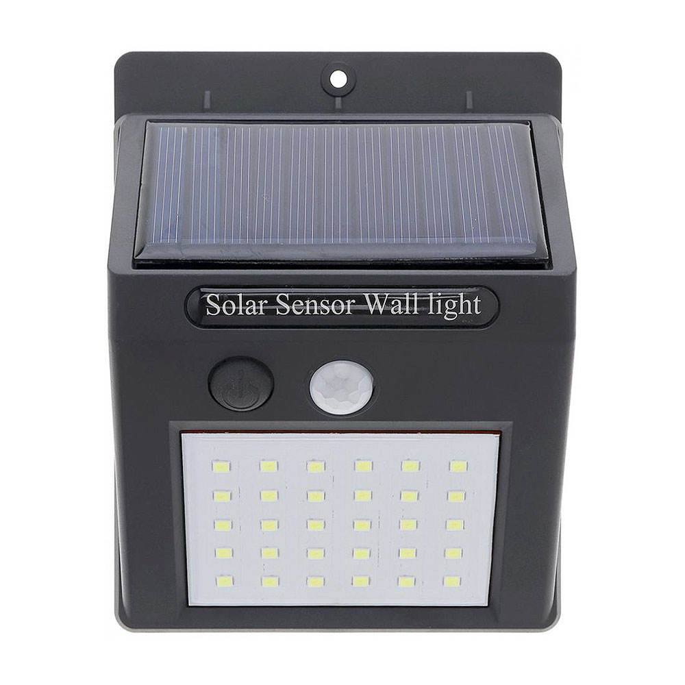 Top Seller 30 LED Lead Sun Powered Solar Led Outdoor Garden Wall Mounted Solar Lights for Home