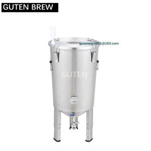 HOME USED 32L CONICAL FERMENTER FER-32VV, FERMENTATION TANK, GUTEN FERMENTER, OPTIONAL CHILLER AND CHILLING LID