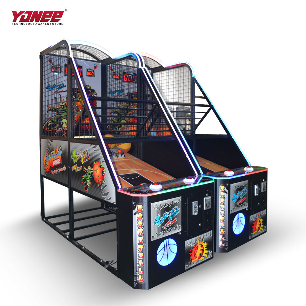 Yonee Taiwan Sport muntvangers <span class=keywords><strong>Basketbal</strong></span> <span class=keywords><strong>Arcade</strong></span> <span class=keywords><strong>Game</strong></span> <span class=keywords><strong>machine</strong></span> met Ticket Verlossing