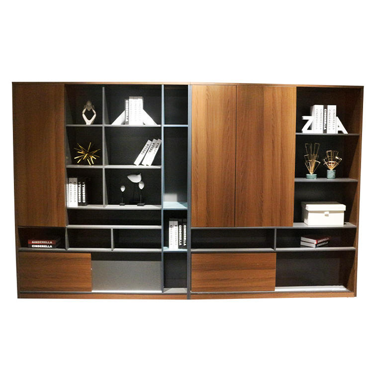 High Quality Office Furniture Wholesale office commercial wooden bookcase modern filing cabinets