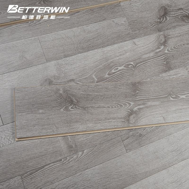 Wholesale price AC4 ac5 art laminated wood flooring with wax