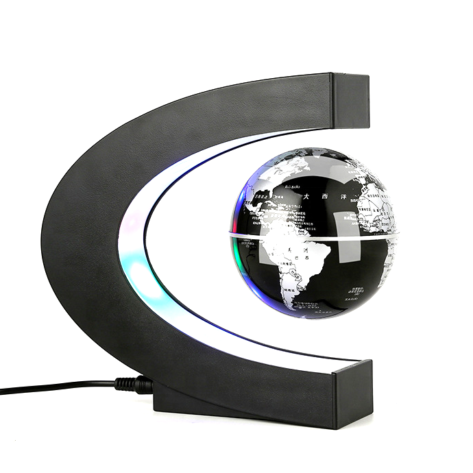 Globe Suspension Globe Model Magnetic Floating Globe World Map Creative Gift Office Decoration
