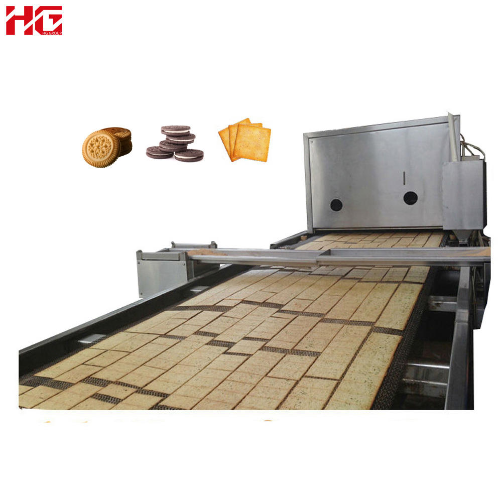 Automatic biscuit making machine price / Biscuit Baking Equipment Processing Line / Soft hard biscuit production line