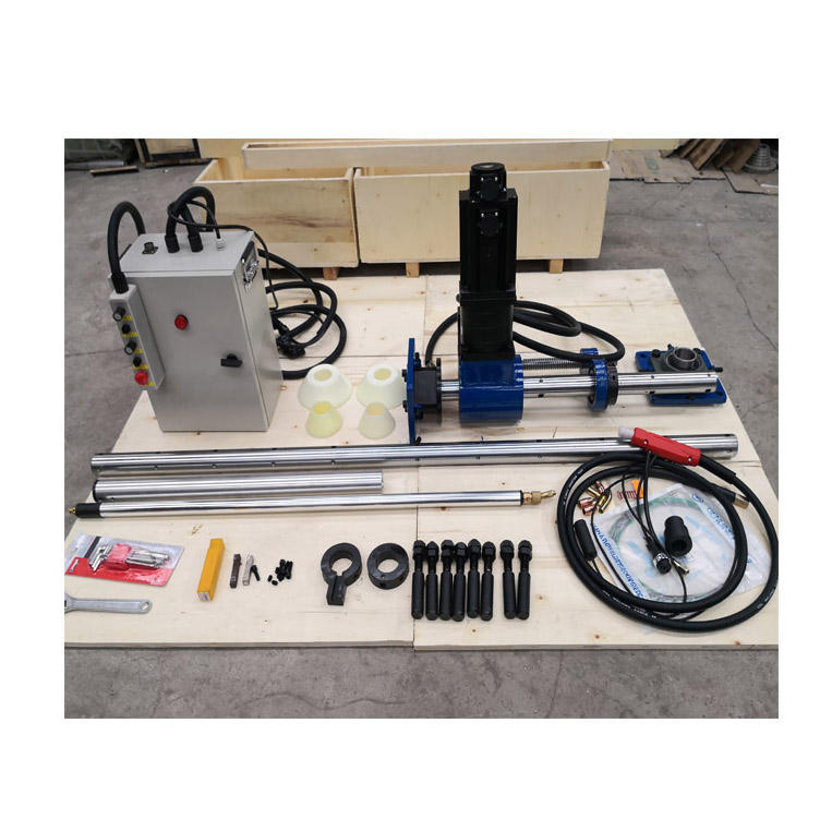 New design hot sale boring and welding machine portable mobile boring and welding machine