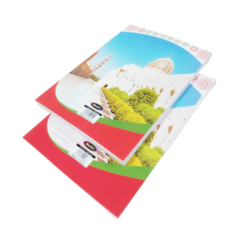 Arabic Notebook Soft Cover Exercise Book Arabic Line PVC Cover Writing Books