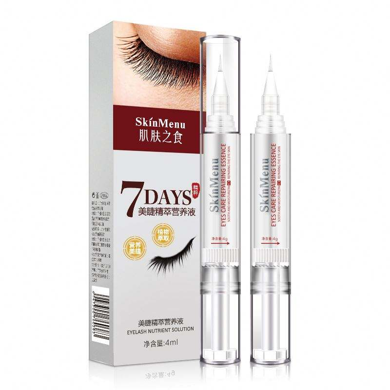 Best Eyelash Growth Product Eye Lash Serum 100% Natural Eyelash Enhancer 7 Days Grow 2-3mm Eyelashes Serum