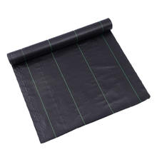 coir agriculture biodegradable green line weed control mat cover fabric
