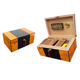 Personalized Lacquer Wooden Cigar Packaging Boxes