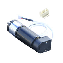 12-24V 35W No load 1690-123rpm rated 1200-87rpm Hall and photoelectric encoder dc electric brushes MD36N planetary gear motor
