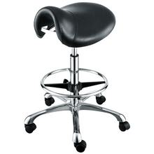 Quality Beauty Salon Cutting saddle Stool with footrest ring