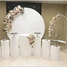 7ft Ez Extend Circle Frame Balloons Stand Gate Outdoor DIY Decoration Backdrop