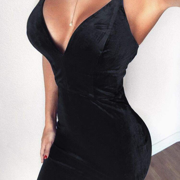 Outfits Spaghetti Strap Little Backless Design Vetement Femme Sexy Party Club Dresses
