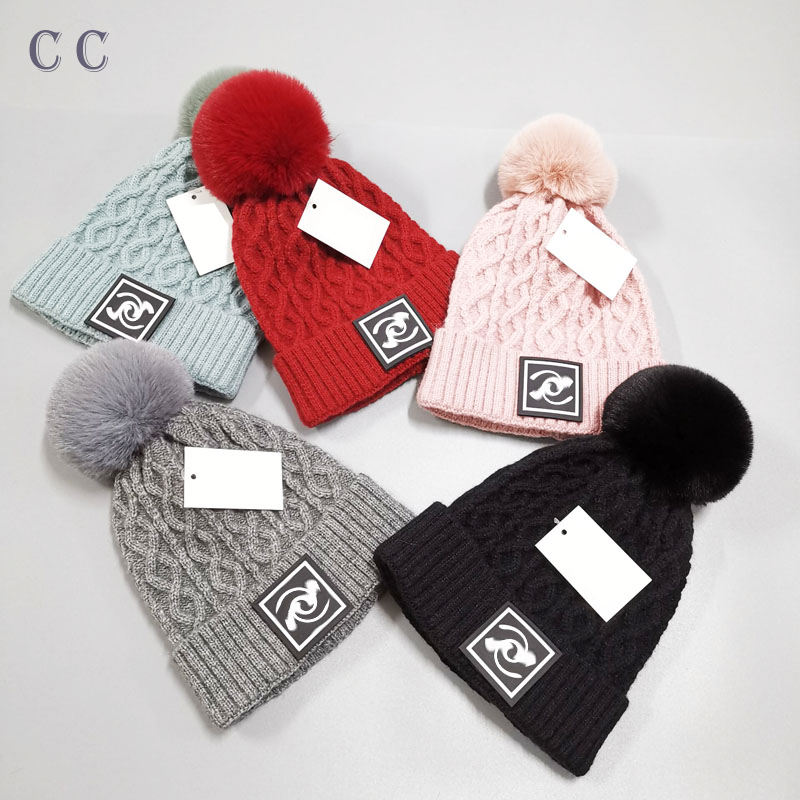 In stocks Brand name Designer Beanie multi color winter designer beanie CC brand name Beanie wholesale