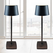 CE approval energy saving nordic table lamp Aluminum material cordless led bar hotel table lamps