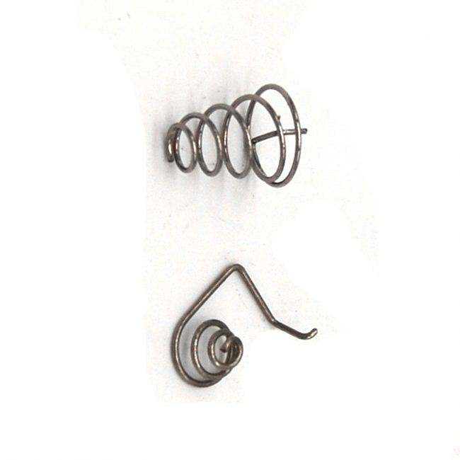 nickel plated spring shackle clock spring