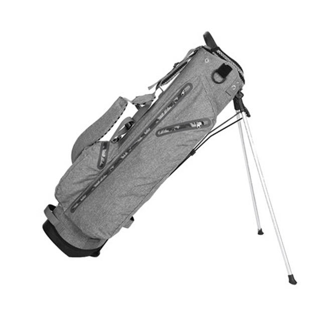 Half Set Grey Golf Stand Bag for Golf Sports with 4 Top Way Divider