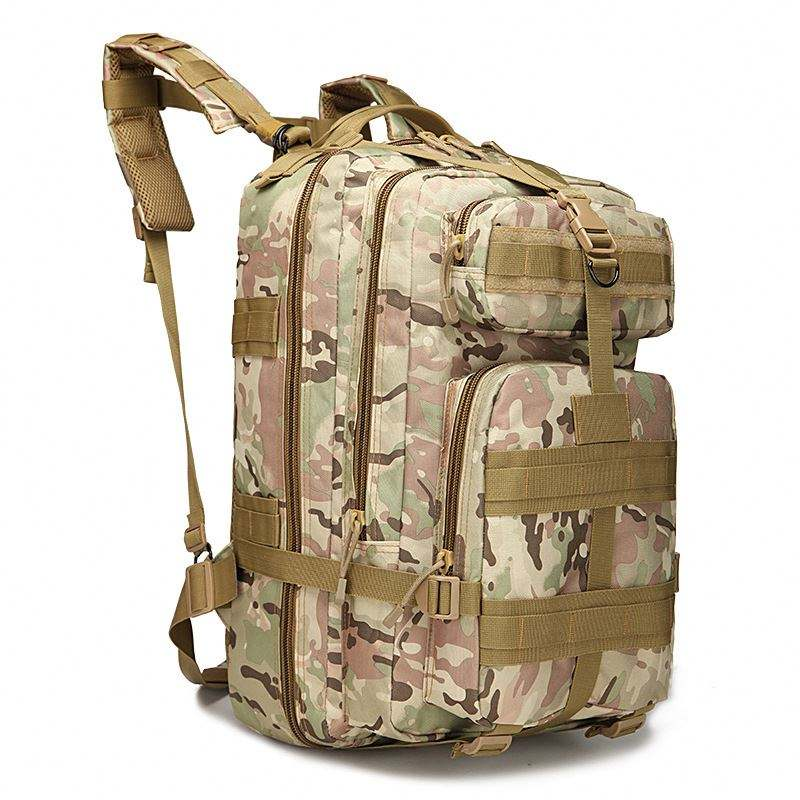 Portable Military Molle Bag With Transparent Map Pouch Tactical Pouch Bag
