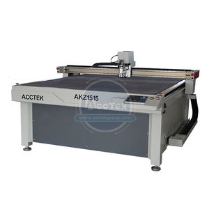 Factory price 1515 size oscillating vibrating knife cloth fabric cutting machine for sale