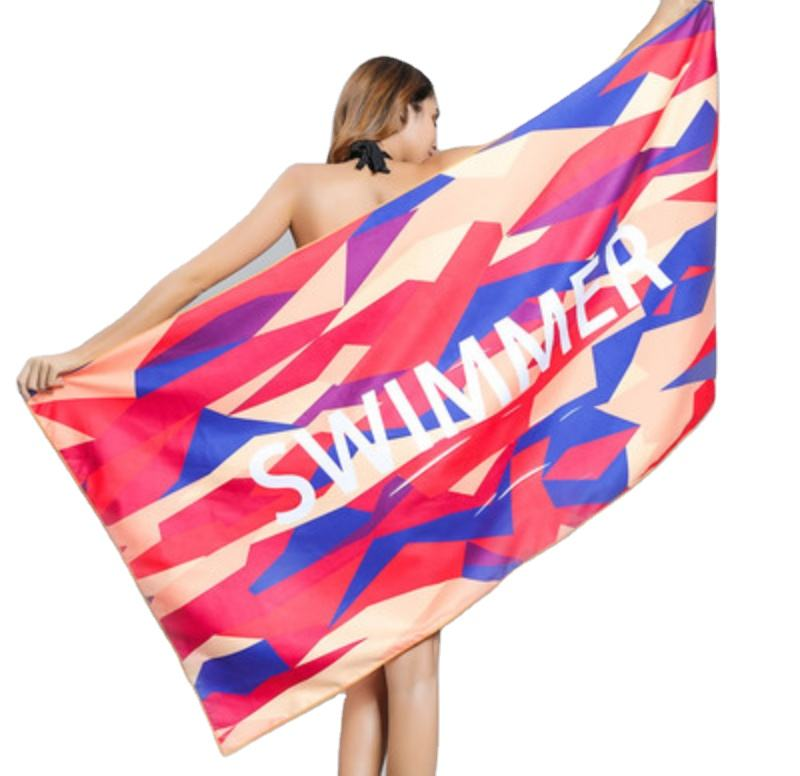 Latest 100% Cotton Reactive Printed Beach Towel