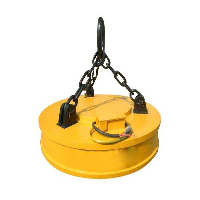 Industrial Lifting Crane Sine Magnetic Chuck In Workshop