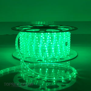 Waterproof outdoor garland flexible 11mm led rope light 230V/110V/24V Holiday strip lights