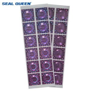Segel QUEEN China Label Hologram Produsen Kustom Batal Keamanan Laser Stiker