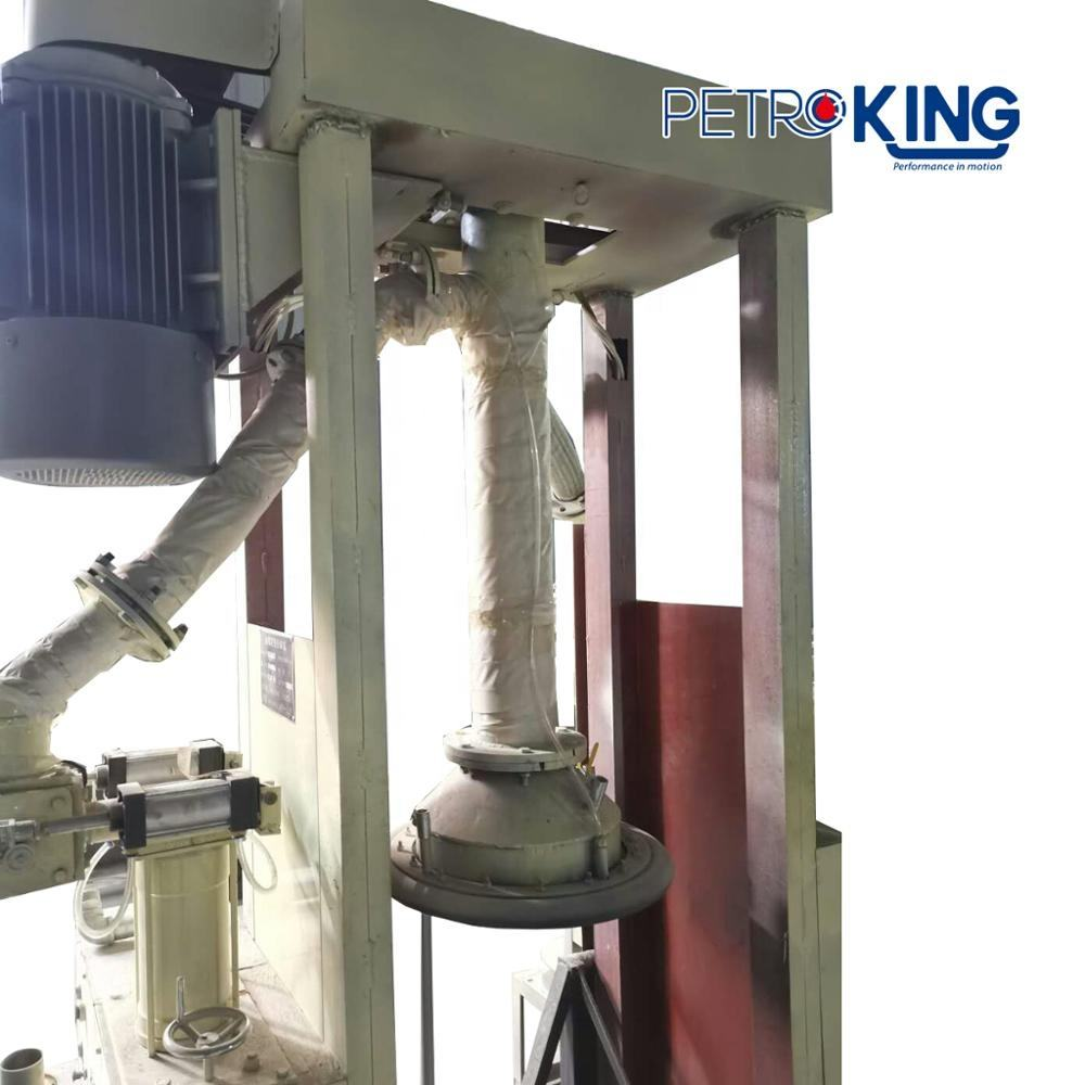 PETROKING High Speed Automatic Pressurized High Flow Grease Pump 180kg Drum Grease Filling Machine